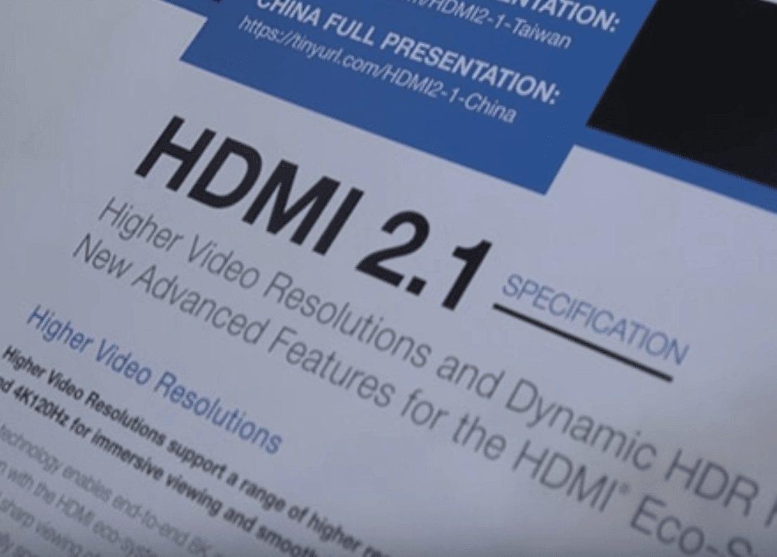 HDMI 2.1 TV list