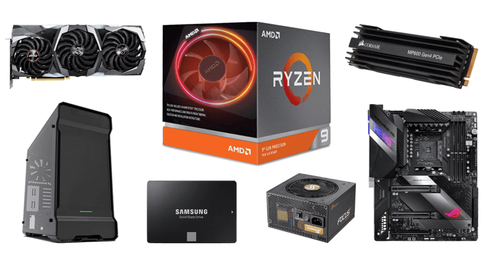 Best Ryzen 9 3900X and RTX 2080 Ti Build 2019