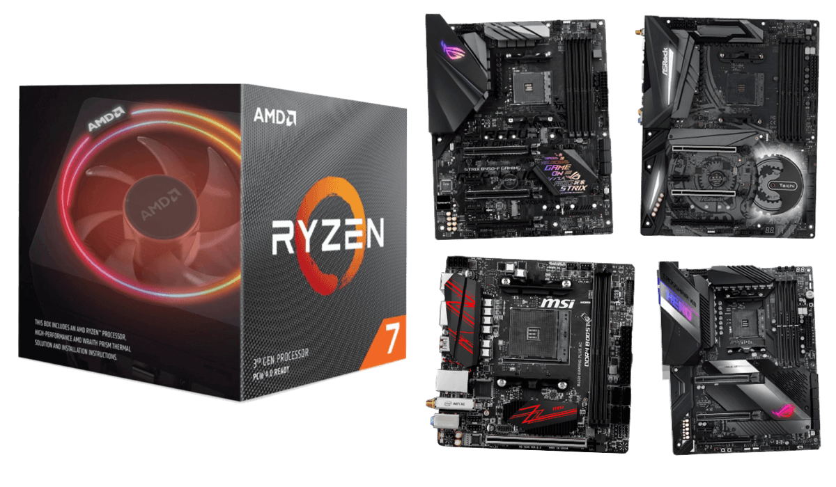 best motherboards for ryzen 7 3700x 3800x