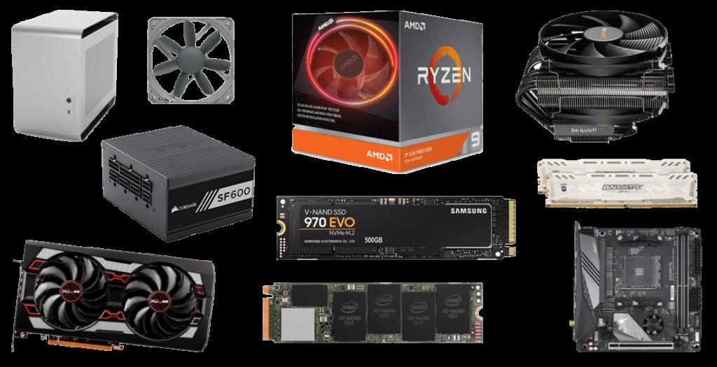 Best Ryzen 9 3900X ITX Gaming Build