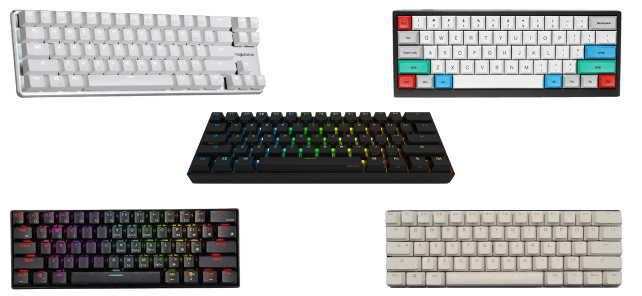 Best 60 percent mechanical keyboards