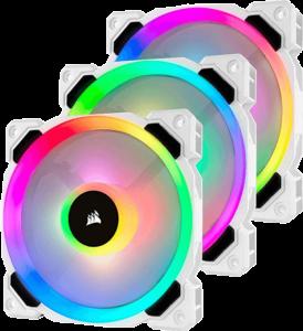 Corsair-White-LL120-fans