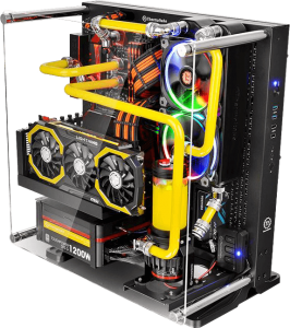 Thermaltake Core P3 wall mounted ATX case
