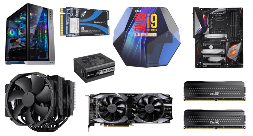 Best i9-9900KS Gaming PC build