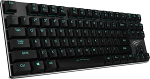 HAVIT 87-key low profile mechanical keyboard