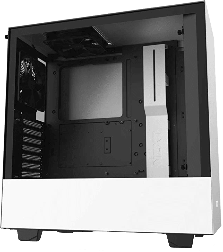 NZXT H510 White Budget PC Case