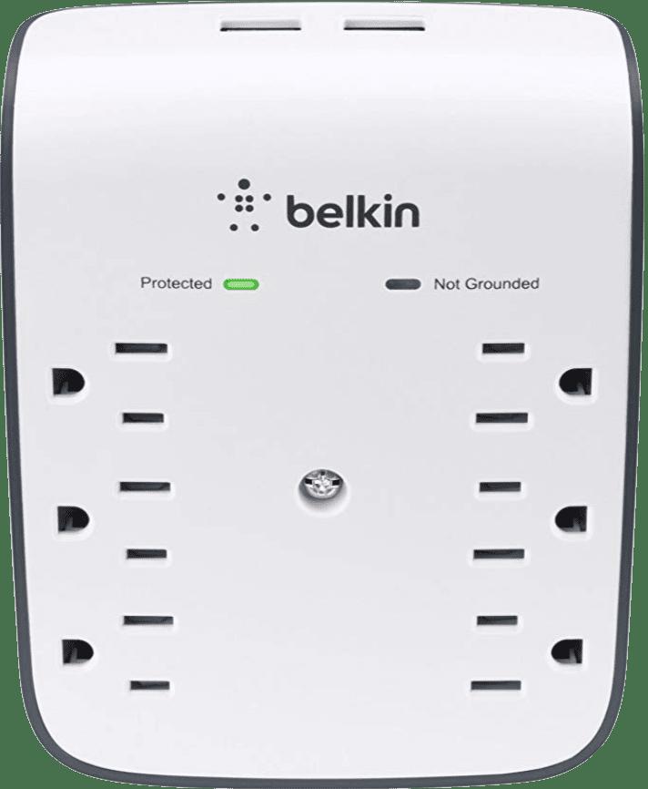 Belkin 6-Outlet USB Surge Protector