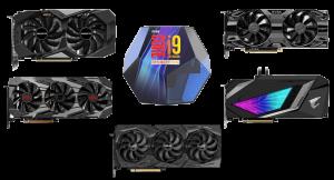best gpu for i9-9900ks builds