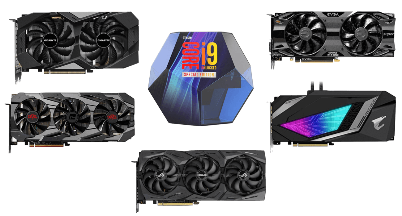 best graphics cards for i9-9900ks build