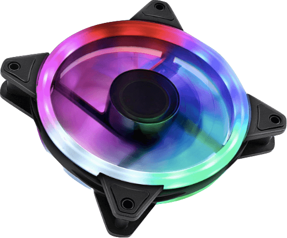 UpHere RGB123-5 120mm RGB Wireless fan