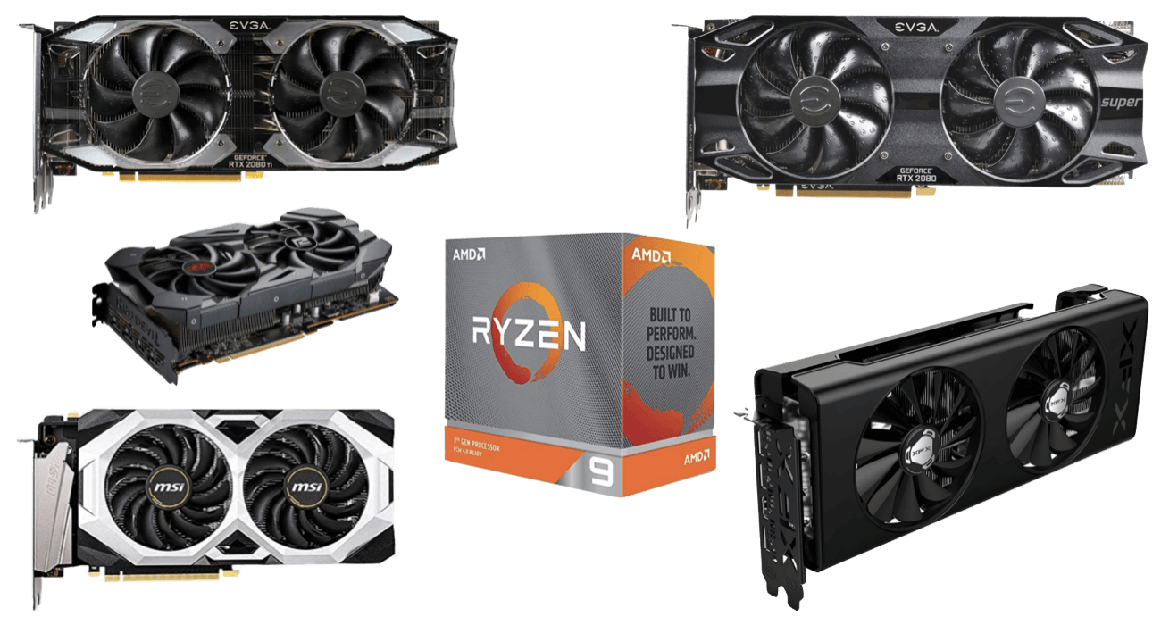 8 Best Graphics Cards For Ryzen 9 3900x 3950x Builds