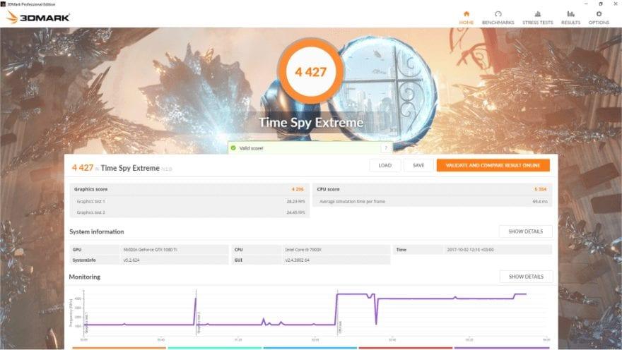 3DMark CPU GPU RAM Benchmark Test
