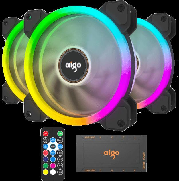 Aigo DR12 3in1 120mm RGB Case Fan