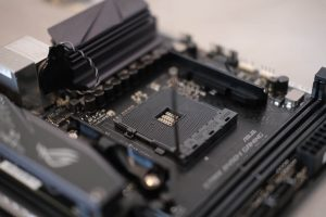 Motherboard Close Up