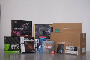 HRyzen 5 3600 ITX Build Partsow to build a gaming PC
