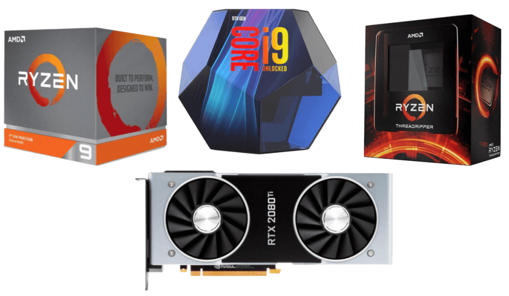 best cpus for rtx 2080 ti builds