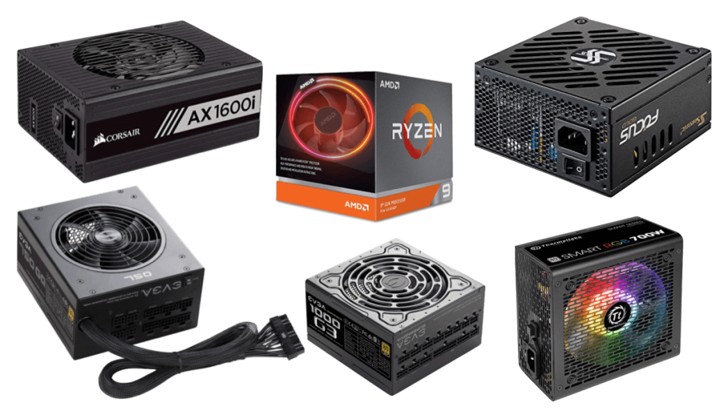 best psus for ryzen 9 3900x build