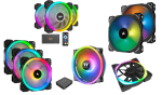 best rgb case fans