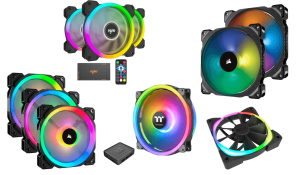 best rgb case fans