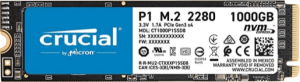 Crucial P1 1TB NVMe SSD