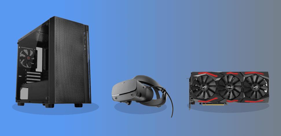 best budget graphics. card VR headset setup