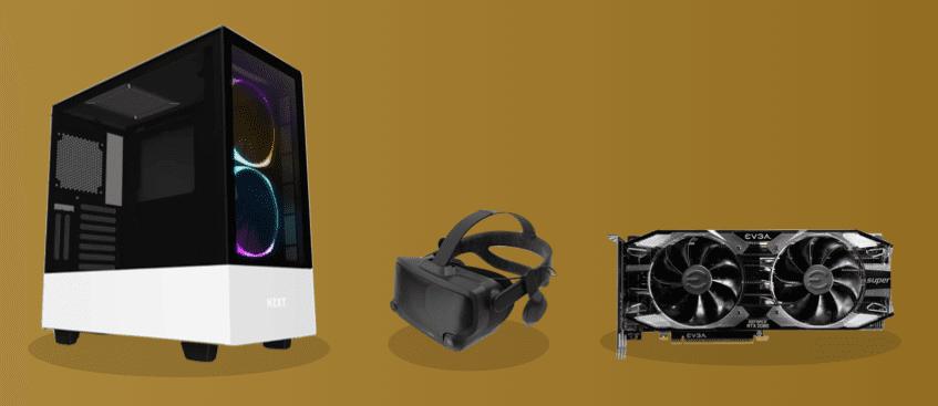 best high-end graphics card vr headset setup