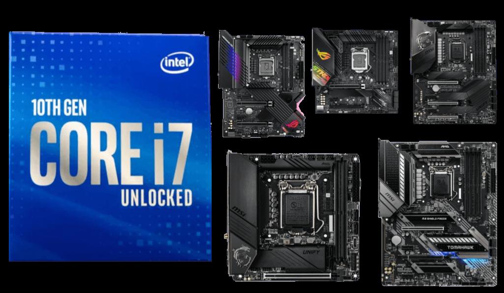 best motherboards for 10700k