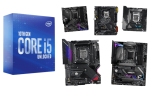 best motherboards for i5-10600k