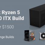 best ryzen 5 3600 itx gaming pc build