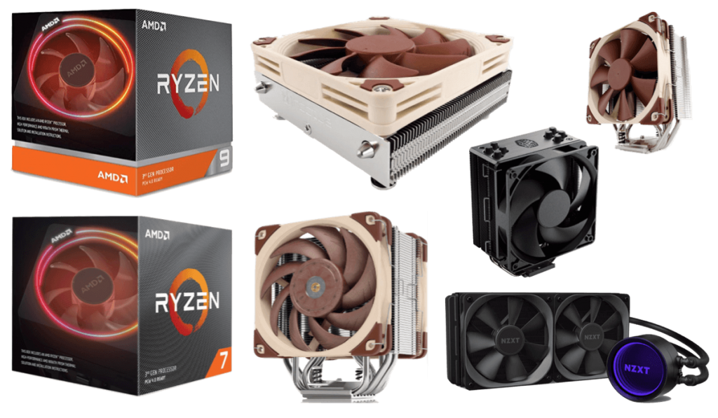 best cpu coolers for 3800xt 3900xt