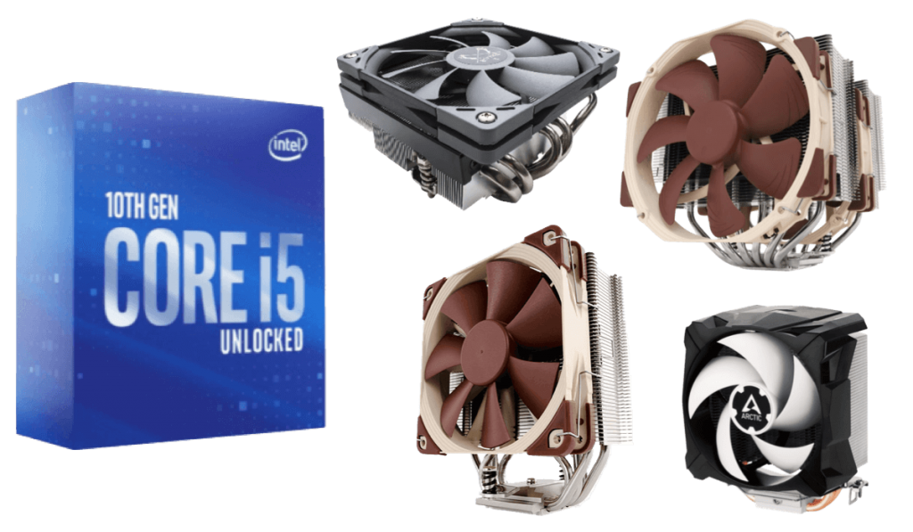 best cpu coolers for i5-10600k