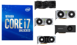 best gpus for i7-10700k