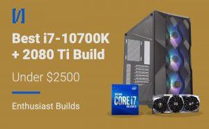 best i7-10700k 2080 ti gaming pc build