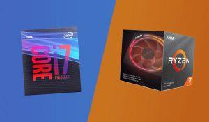 intel core i7 9700k vs ryzen 7 3700x