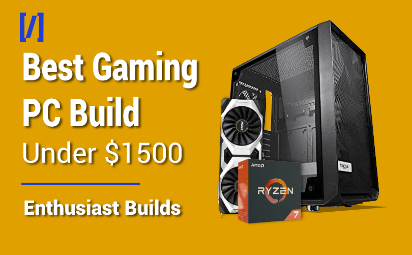 Best Gaming Pc Build For 1500 In 2021 1440p 144fps 4k 60fps
