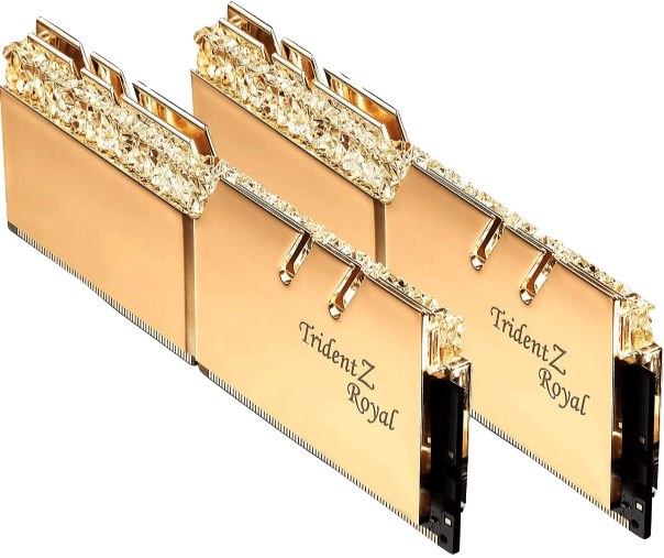 G.Skill 32GB DDR4 Trident Z Royal Gold