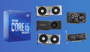 best graphics cards for intel core i5-10600k