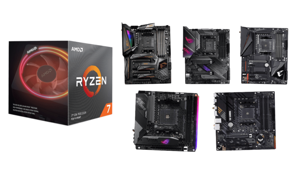 best motherboards for ryzen 7 3800xt