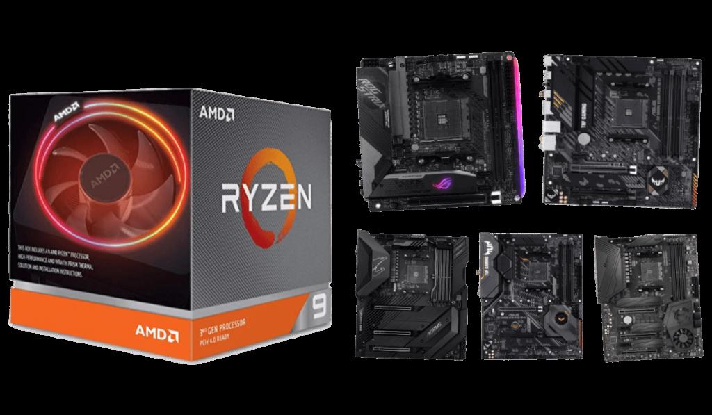 best motherboards for ryzen 9 3900xt