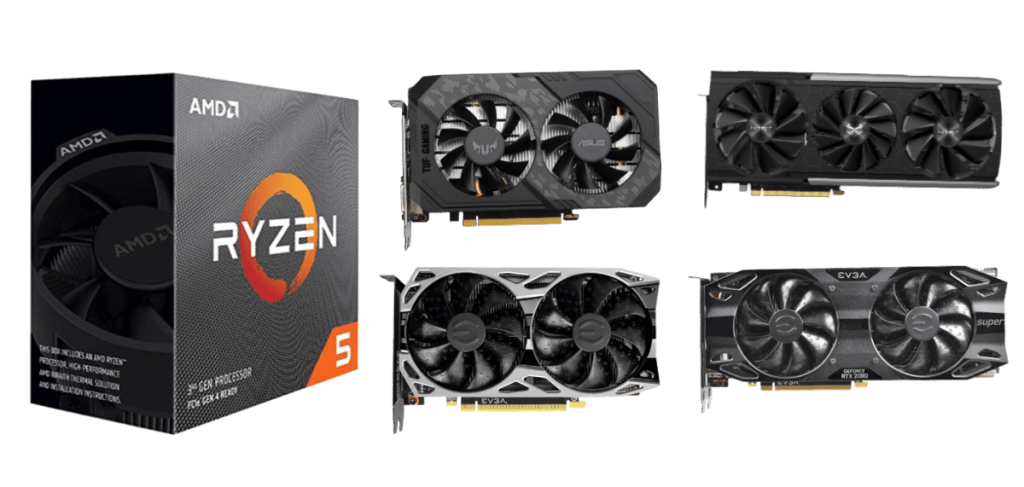 Best Graphics Cards for Ryzen 5 3600XT