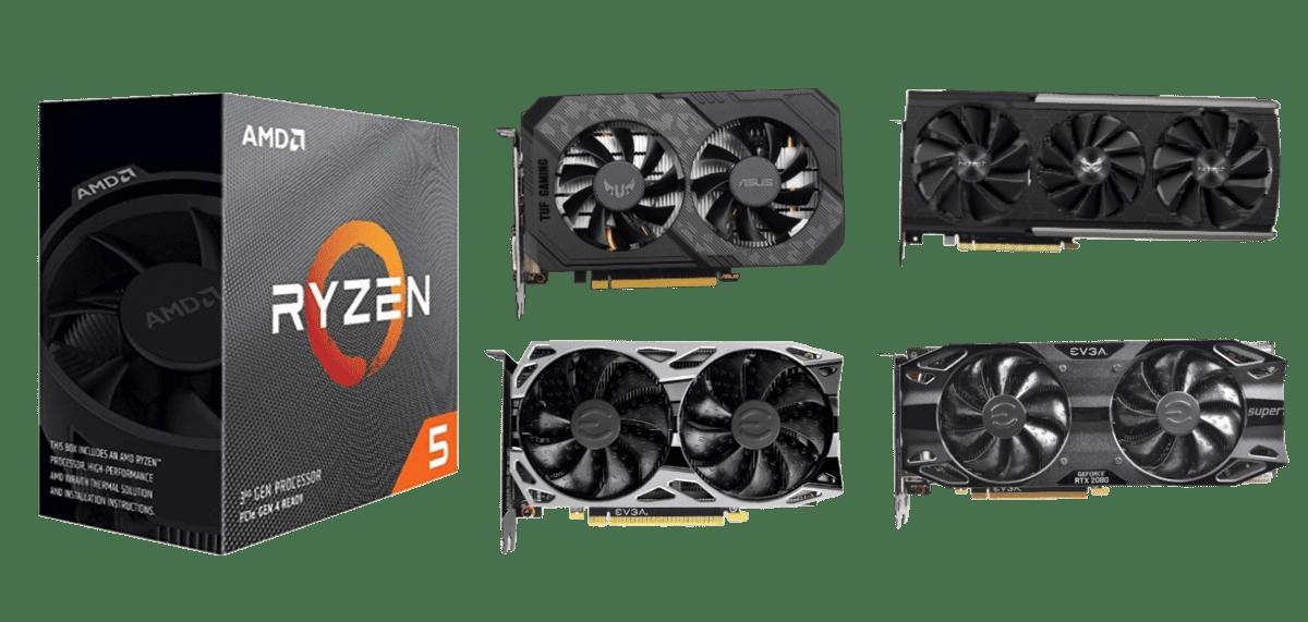 Best Graphics Cards for Ryzen 5 3600XT