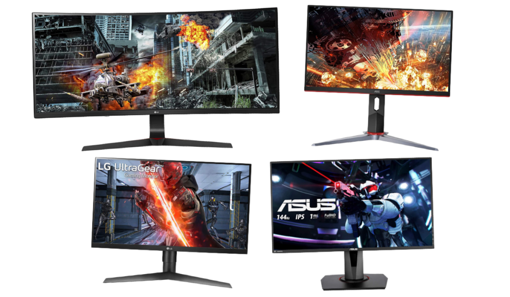 best 1080p 144hz gaming monitors