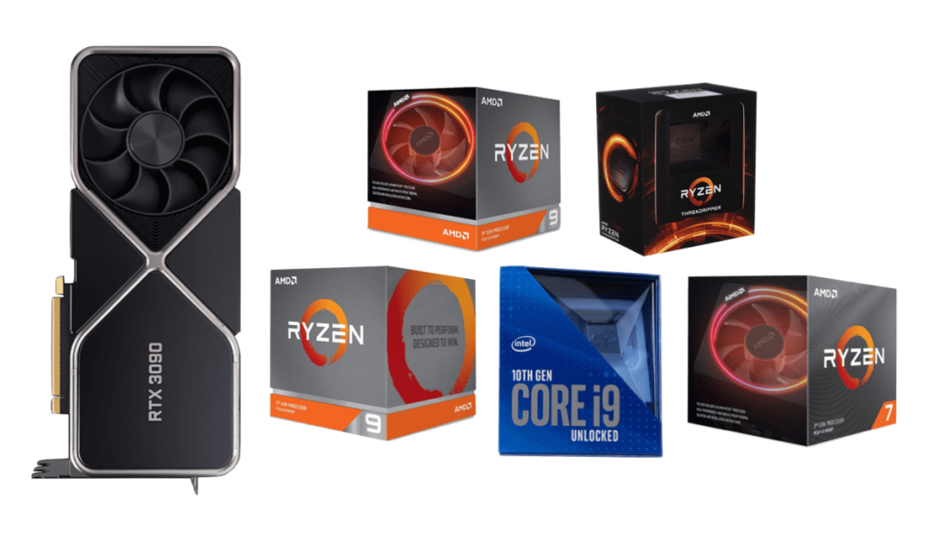 best cpus for rtx 3090