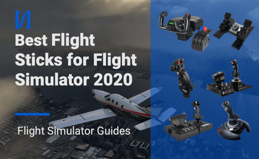 best flight sticks for flight simulator