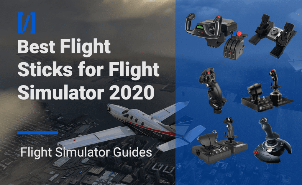 best flight sticks for flight simulator