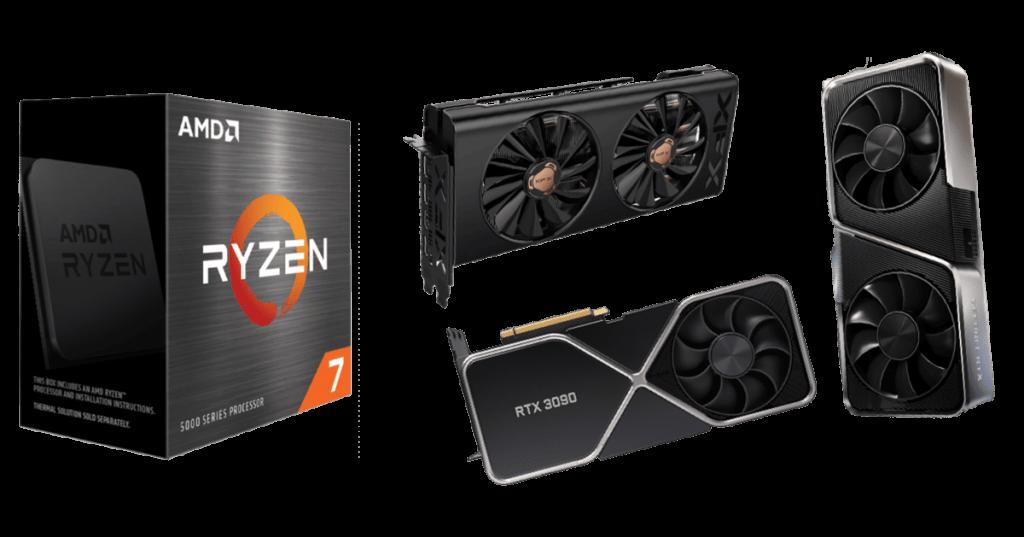 best graphics cards for ryzen 7 5800x