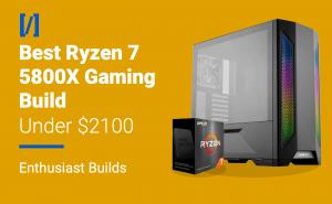 best ryzen 7 5800x gaming pc build