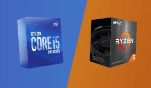 ryzen 5 5600x vs intel i5-10600k