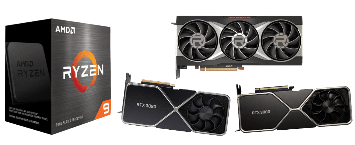 best graphics cards for ryzen 9 5900x 5950x