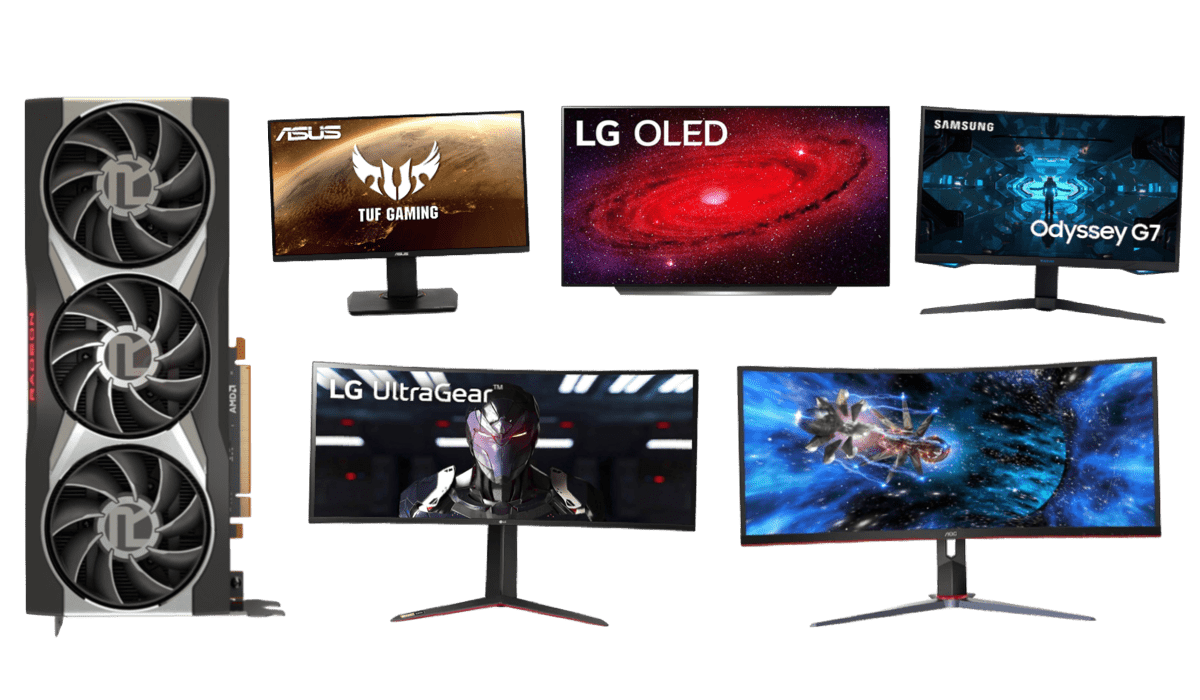 best monitors for rx 6800 xt 6900 xt